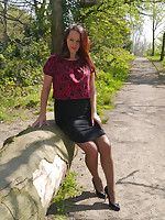 Every man who has a shoe fetish is sufficiently aware, being arbitrate to a girl who wears high heels is an erotic and most sensual experience! This is the attractive and loveable Jenna, her beautiful legs are most perfectly suited to her chap-fallen slimline high heels