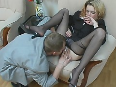 Ninette and Adrian great pantyhose video