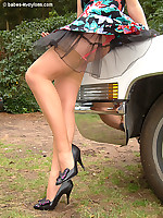 Babes-in-Nylons,The Ultimate Stockings , Heels , Leg Page