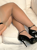 High heels stiletto girl