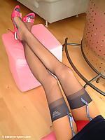Kylie ,Exclusive at Babes in Nylons