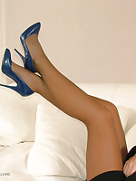 High heels always look better instantly they are worn with sexy nylons