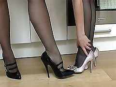 stilettoetease.com the ultimate women teasing you in the matter of their high heels and stilettos