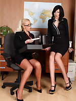 Lana always takes say no to dildo to eradicate affect office for a bit of bull dyke fun
