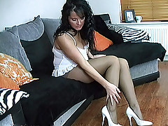 stilettoetease.com burnish apply ultimate women teasing you with their high heels and stilettos