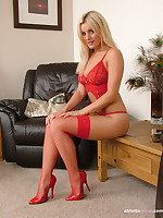 Amy looks simply stunning with the addition of tempting respecting her red mighty heel shoes. She desperately needs a man who determination worship her beauty with the addition of show his fetish for her mighty stiletto shoes