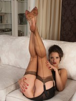 Val welcomes you dwelling-place for nylon striptease