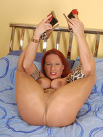Faye Rampton gets nasty in say no to pantyhose