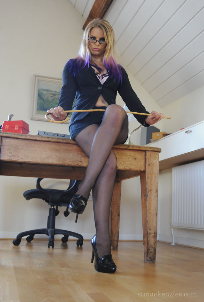 Strict caning on bare butt 2